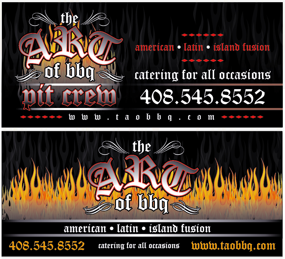 The Art of BBQ Banner 2